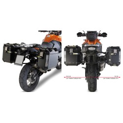 PORTAVALIGIE LATERALE SPECIFICO KTM ADVENTURE GIVI PL7705CAM