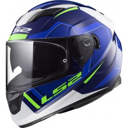 CASCO HELMET INTEGRALE FF320 STREAM EVO AXIS BLUE WHITE LS2