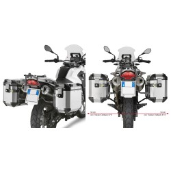 PORTAVALIGIE LATERALE SPECIFICO BMW G650 GS GIVI PL5101CAM