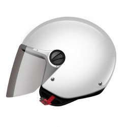 CASCO HELMET JET KIDS OF575 WUBY JUNIOR GLOSS WHITE LS2