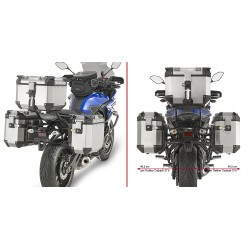 PORTAVALIGIE LATERALE SPECIFICO YAMAHA MT-07 TRACER GIVI PLR2130