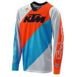 KTM MAGLIA SE SLASH SHIRT WHITE 2017 CROSS ENDURO