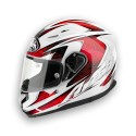 CASCO INTEGRALE T600 BIONIC RED GLOSS AIROH