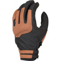 GUANTI GLOVES MOTO ESTIVI DARKO MARRONE NERO MACNA