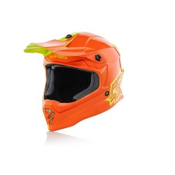 CASCO HELMET CROSS ECLIPSE JUNIOR GIALLO ARANCIO ACERBIS
