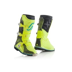 STIVALI BOOTS CROSS SHARK JUNIOR NERO GIALLO