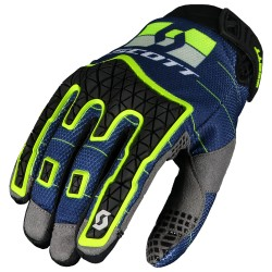 GUANTI GLOVES ENDURO BUE YELLOW SCOTT