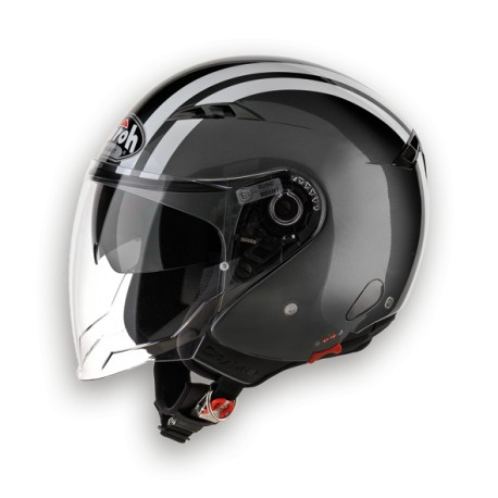 CASCO JET CITY ONE FLASH ANTHRACITE GLOSS AIROH