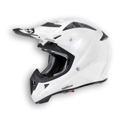 CASCO CROSS JUNIOR AVIATOR COLOR WHITE GLOSS AIROH