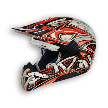 CASCO CROSS JUNIOR MR CROSS TAG GLOSS AIROH