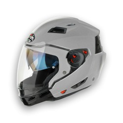 CASCO CROSSOVER EXECUTIVE SILVER METAL AIROH