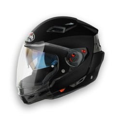 CASCO CROSSOVER EXECUTIVE BLACK METAL AIROH