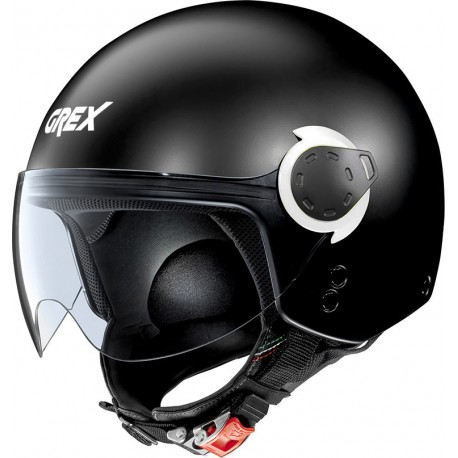 CASCO HELMET MINI-JET G3.1E KINETIC FLAT BLACK GREX