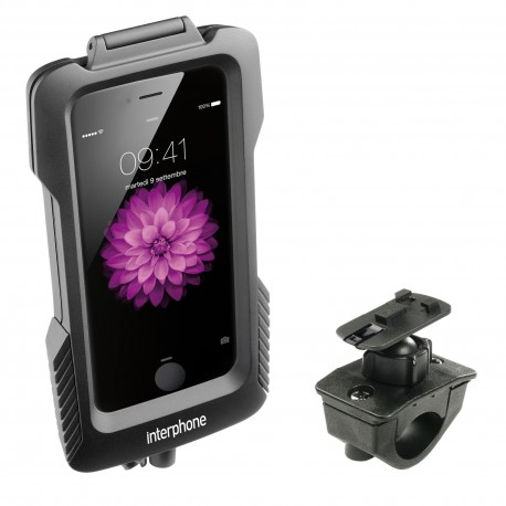 SUPPORTO CUSTODIA IPHONE 6 PLUS PER MOTO E BICI CELLULAR LINE