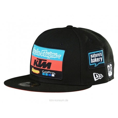 KTM CAPPELLO CAPPELLINO TLD TEAM HAT BLACK UPW190006000
