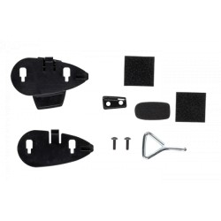 KIT RICAMBI SPUGNETTE E STAFFE CELLULAR LINE PER INTERFONI TOUR SPORT ED URBAN