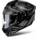 CASCO INTEGRALE ST501 IN FIBRA DUDE ANTRACITE OPACO AIROH