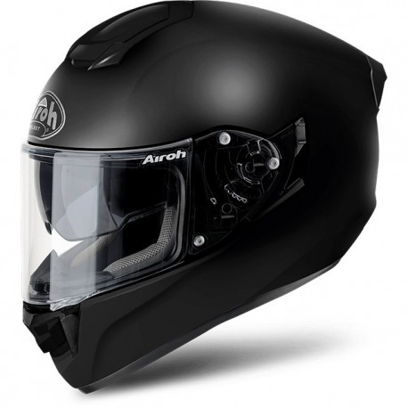 CASCO INTEGRALE ST501 IN FIBRA COLOR NERO OPACO AIROH