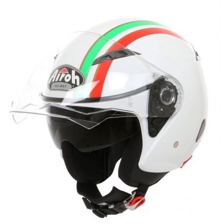 CASCO JET CITY ONE STYLE GOLD GLOSS AIROH