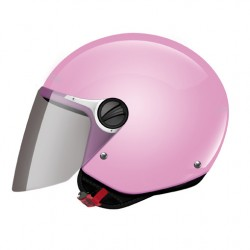 CASCO HELMET JET KIDS OF575 WUBY JUNIOR PINK GLOSS LS2