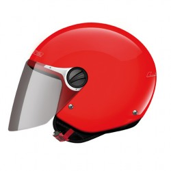 CASCO JET KIDS OF575 WUBY JUNIOR RED GLOSS LS2