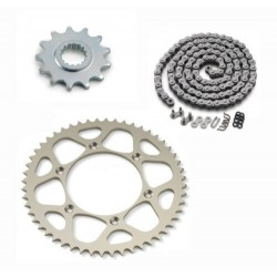 KTM KIT CATENA CORONA PIGNONE ORIGINALE 17/42 990 1050 1190 1290 ADVENTURE 00050002013