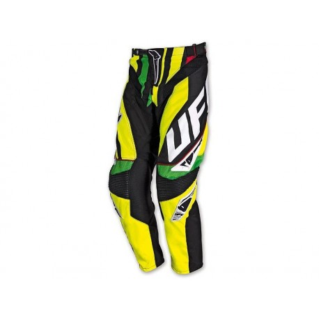 PANTALONE CROSS MADE IN ITALY ROSSO FLUO UFO