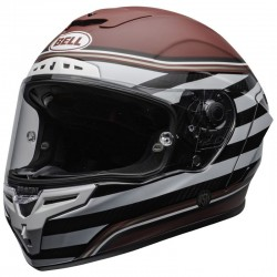 CASCO INTEGRALE RACE STAR DLX RSD THE ZONE RED BELL