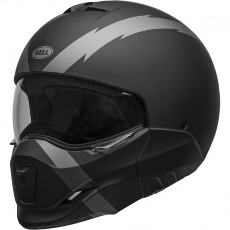 CASCO MODULARE BROOZER ARC MATT BLACK GREY BELL