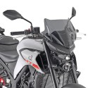 PARABREZZA SPECIFICO FUME' YAMAHA MT-03 321 GIVI