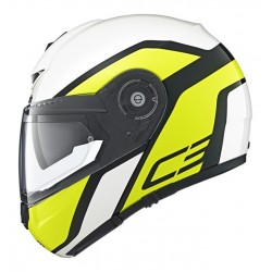 CASCO MODULARE C3 PRO OBSERVER YELLOW SCHUBERTH