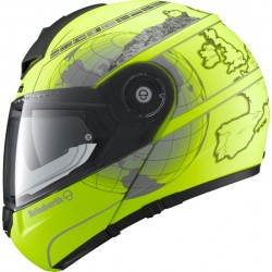 CASCO MODULARE C3 PRO FLUO YELLOW EUROPE SCHUBERTH