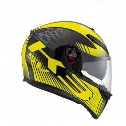 CASCO INTEGRALE K-3 SV E2205 MULTI GLIMPSE BLK METAL YELLOW AGV