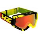 MASCHERA CROSS RAY YELLOW / RED HZ