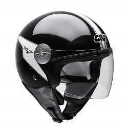 CASCO DEMI-JET 10.7 BLACK GIVI