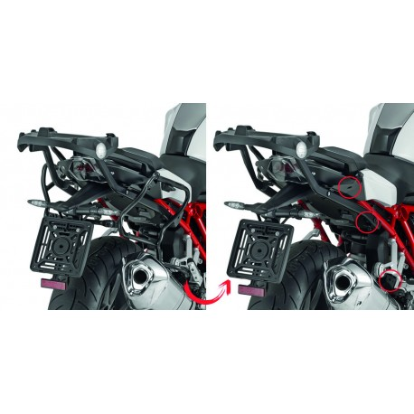 PORTAVALIGIE LATERALE SPECIFICO PER V35 MONOKEY® SIDE GIVI PLXR5117