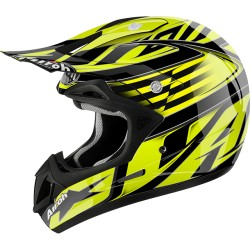 CASCO CROSS JUMPER ASSAULT YELLOW GLOSS AIROH