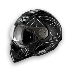 CASCO HELMET J106 COMMAND BLACK MATT AIROH