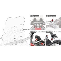 KIT VITERIA SPECIFICO PER YAMAHA MT-09 TRACER GIVI 04SKIT