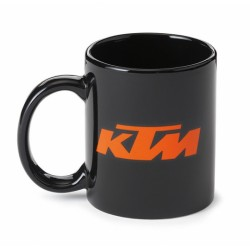 TAZZA IN PORCELLANA MUG BLACK KTM