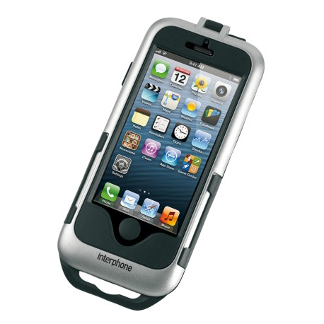 SUPPORTO MOTO PER IPHONE 5 SILVER APPLE CELLULAR LINE