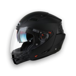 CASCO CROSSOVER EXECUTIVE BLACK MATT AIROH