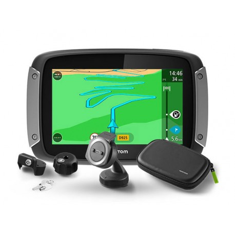 TOMTOM RIDER 410 PREMIUM PACK GREAT RIDES EDITION