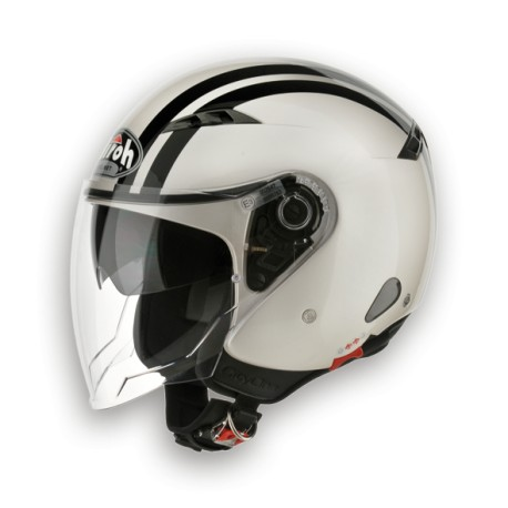 CASCO JET CITY ONE FLASH PERL GLOSS AIROH