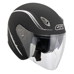 CASCO JET 20.6 FIBER MATT BLACK GIVI