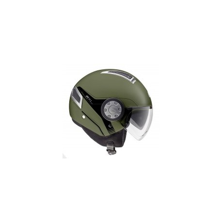 CASCO JET 11.1 AIR MILITARY GREEN GIVI