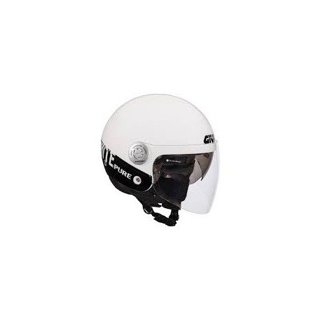 CASCO DEMI-JET URBAN 10.8 CITY WHITE GIVI