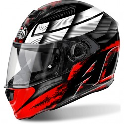 CASCO HELMET INTEGRALE STORM STARTER RED GLOSS AIROH