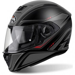 CASCO HELMET INTEGRALE STORM SPRINTER BLACK MATT AIROH