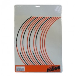 KTM SET ADESIVI CERCHI SUPERDUKE 1290 RIM STICKERS 17""